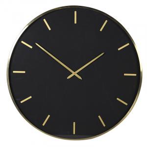 Black & Gold Wall Clock