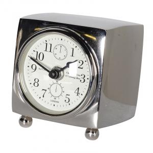 3 Face Nickel Table Clock