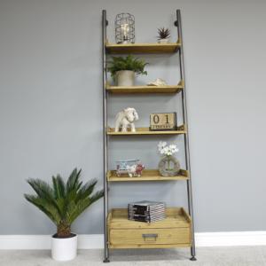 Ladder Wall Shelf Unit