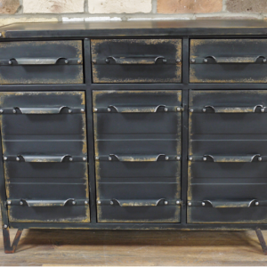 Salvage Style Cabinet