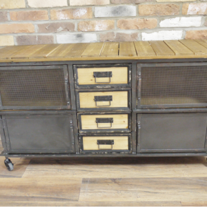 Industrial Wheeled Cabinet