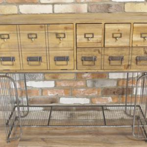 Multi Drawer Metal Shelf Cabinet