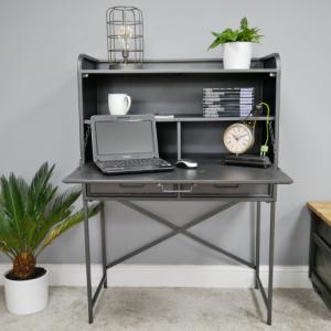 Industrial Metal Desk/Cabinet