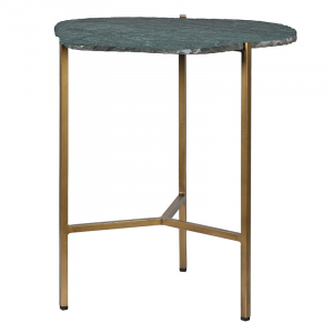 Green Marble End Table
