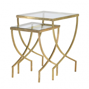 Nest of 2 Curve Tables